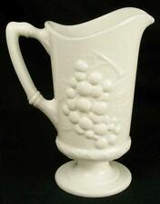 Vintage Grape Milk Glass 28oz Pitcher by Imperial Glass Ohio (HH)