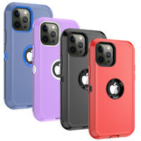 For iPhone 12 Pro Max / 12 Mini Shockproof Hybrid Rugged Hard Defender Cover