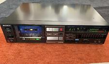 Sony TC-FX520r Stereo Cassete Deck Auto Revese Vintage