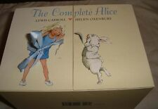 THE COMPLETE ALICE BOOK SET BY LEWIS CARROL AND HELEN OXENDALE  22 BOOKS