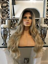 Blonde Lace Wig Human Hair Wig Ombré, Lace Front Wig Blonde Wig