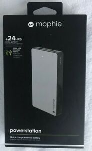 mophie Power Bank 6000 mAh Portable Powerstation, Dual USB Ports, New in Box!