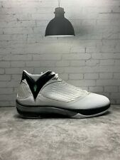Nike Air Jordan 2009 'White Metallic Silver' Zoom Basketball Size 14 343084-161