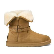 UGG Australia Patternless Buckle Boots for Women