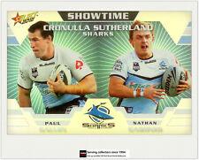 2012 Select NRL Champions Showtime Holochrome Card ST4 Gallen/Gardner (Sharks)