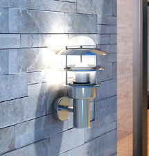 Outside Modern Wall Lantern Porch Contemporary Patio Outdoor Light Garden Lamp