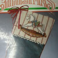 Bucilla Counted Cross Stitch Country Toys Stocking Kit Designed by Bonnie Smith