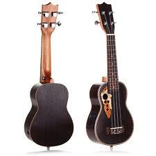 """21"""" Professinal Soprano EQ Electro Acoustic Ukulele Uke 15-Frets Hawaii Guitar"""