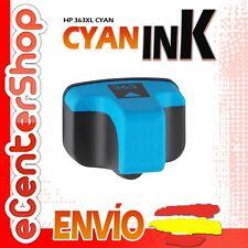 Cartucho Tinta Cyan / Azul NON-OEM HP 363XL - Photosmart 8250