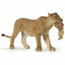 Papo Lioness With Cub Animal Figure NEW 50043