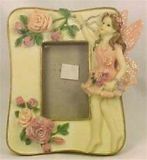 Ballerina Pink Fairy & Roses Picture Frame Little Girl Adorable