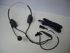 Plantronics P61N-U10P Supra Binaural Black Headband Headset for Avaya Nortel NEC