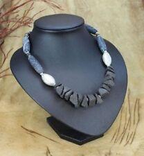 Achat Echtschmuck-Halsketten & -Anhänger aus Metall-Legierung für Damen