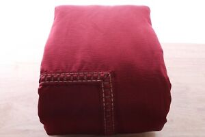 Hotel Collection FULL/QUEEN Duvet Cover Luxe Border Red A910023
