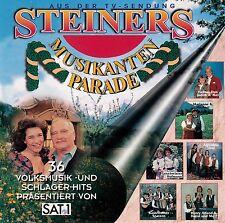 STEINERS MUSIKANTEN PARADE - 36 VOLKSMUSIK- & SCHLAGER-HITS / 2 CD-SET