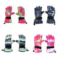 Men Women Winter Warm -30℃ Waterproof Windproof Snow Snowboard Ski Gloves