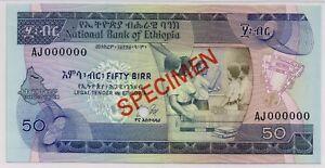 Ethiopia 50 Birr Farmer//Castle//p51f UNC 2012