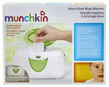 Munchkin Warm Glow Wipe Warmer Green New in Box
