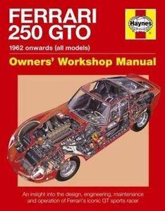 Ferraro 250 GTO Manual by Glen Smale (Hardback, 2014)