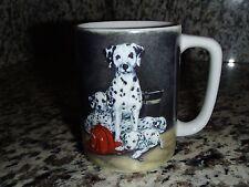 Dalmation Fireman Hat Coffee Mug Cup Puppy Dog by Linda Picken & Otagiri Japan
