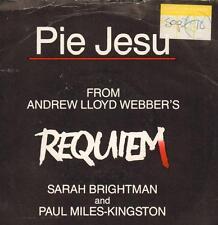 "Sarah Brightman(7"" Vinyl P/S)Pie Jesu-EMI-WEBBER 1-UK-1985-VG/VG"