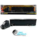 Maisto 1:64 Design Custom Hauler Mack Anthem Enclosed Transporter Black