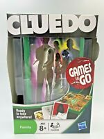 Cluedo Travel Board Game Take Anywhere Hasbro Games To Go Age 8+ Boxed New