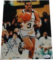 Dennis Johnson Hand Signed Autographed 8x10 Photo Boston Celtics #3 Dribble JSA