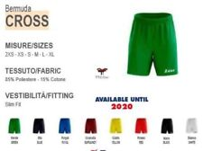 bermuda cross zeus mezza tuta scaldamuscoli fitness calcio shorts running