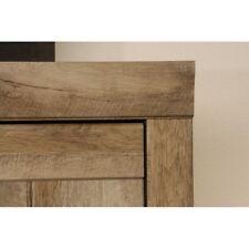 Sauder 418141 Storage Cabinet Furniture Adept Wide Craftsman Oak