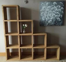 Rustic Cube Shelving Unit  Bespoke Sizes Available