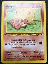 Carte Pokemon GOUPIX 91/105 Commune Néo Destiny Wizard EDITION 1 FR NEUF