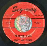 HEAR Mary Ann Fisher 45 Forever More/I Can't Take It northern soul R&B mod