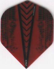 Red HARDCORE Dart Flights: 3 per set