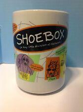 Shoebox Greetings Tea Cup Coffee Mug Maxine The Grays Lottie Floyd Guru Guy Fun