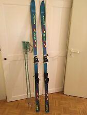 Skiset: Völkl P 10 SL1,95 m mit Bindung Salomon 957 und Stöcker Klemm 1,26 m