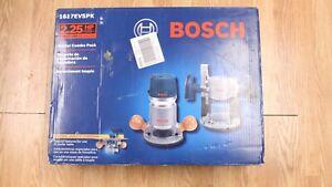 Bosch 1617EVSPK 2.25 AH Wood Router Tool Combo Kit    NIB