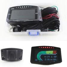 5IN1 LCD-Öldruck + Wassertemperatur + Kraftstoffanzeige + Tachometer + Voltmeter