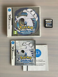 Pokemon: SoulSilver Version (DS, 2010) Authentic & Tested!