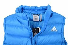 New with Tags adidas DG90 Basic Down Vest Puffer BodyWarmer Mens Small Blue