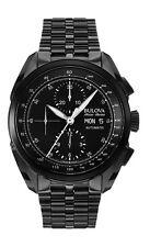 Bulova AccuSwiss 65C116 Tellaro Men's Swiss Made Automatic Chronograph Watch NEW