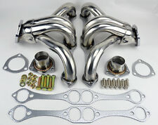Chevy GMC 5.0L 5.7L 305 350 V8 Small Block Hugger Stainless Steel Headers Truck