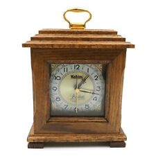 "Watkins 1989 President's Honor Guild 8"" Quartz Mantel Shelf Oak Clock"