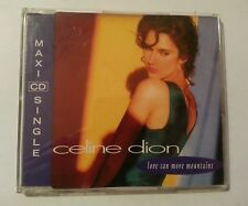 CELINE DION Love Can Move Mountains 3 Track Maxi CD inkl. Cry Just A   658148-2