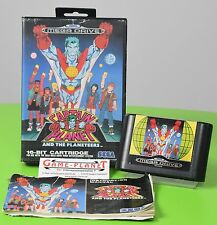 Captain Planet and the Planeteers Sega  Megadrive OVP  mit Anleitung Jump`n Run