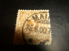 German Stamp, Scott 46C, Used