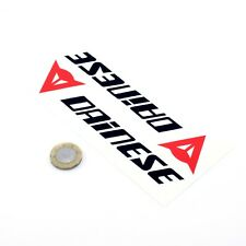 Dainese Sticker Decal Motorcycle Vinyl 150mm x2 Biker Enthuhsiast