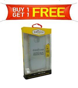 Griffin Survivor Ultra-Slim Protection Drop Case HTC U11 Life BUY 1 GET 1 FREE