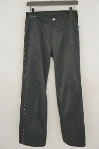 Women Spyder Trousers Skiing Pants Waterproof Black GB12 US10 S L32 XIK480
