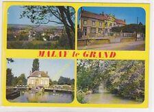 CP 89100 multivues MALAY LE GRAND Edit NIVERNAISES 1986